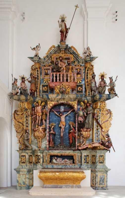 A Krucsay oltár.
