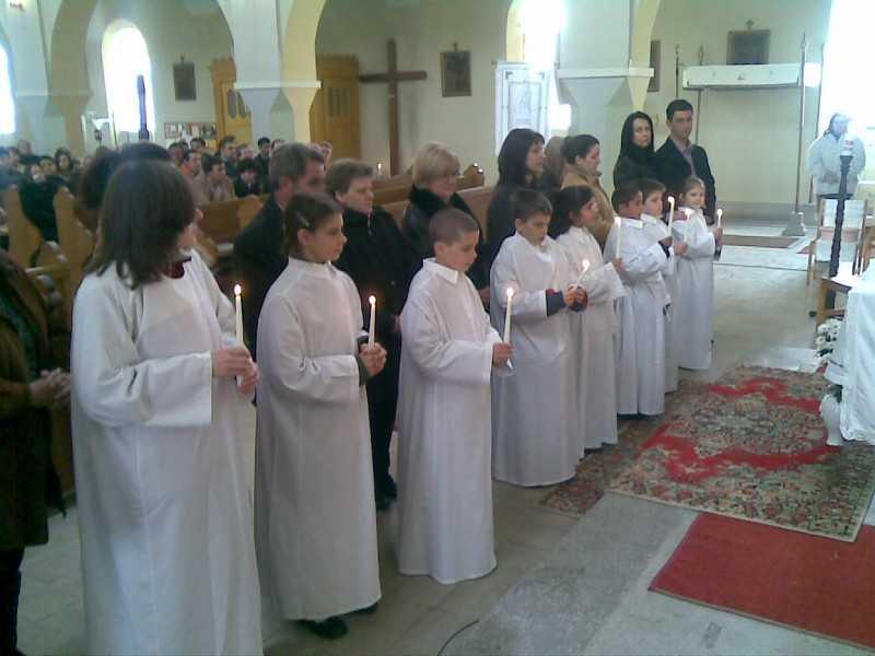 keresztelő 2008 húsvétján