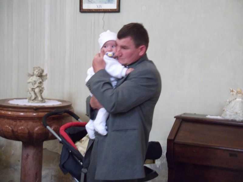 Ő ma lett megkeresztelve