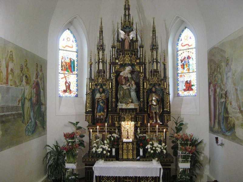 A szentély