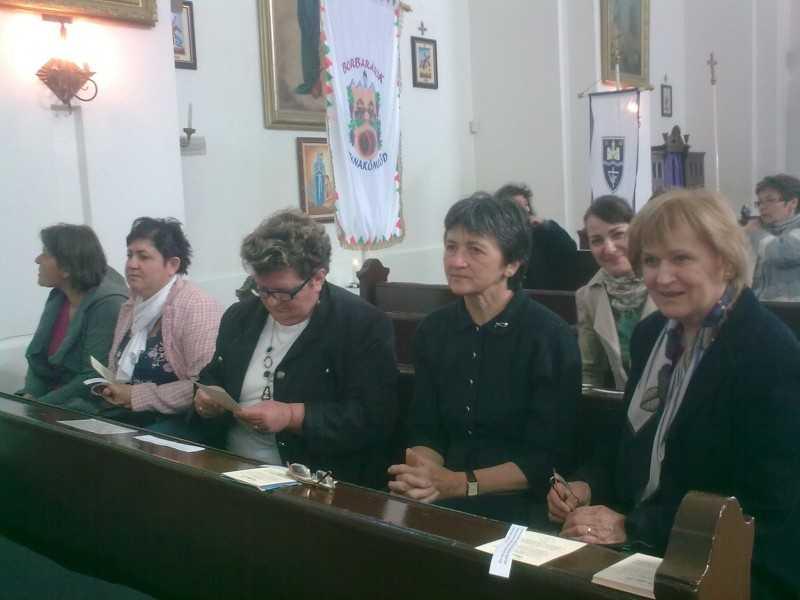 Szent Mónika találkozó Dumakömlődön