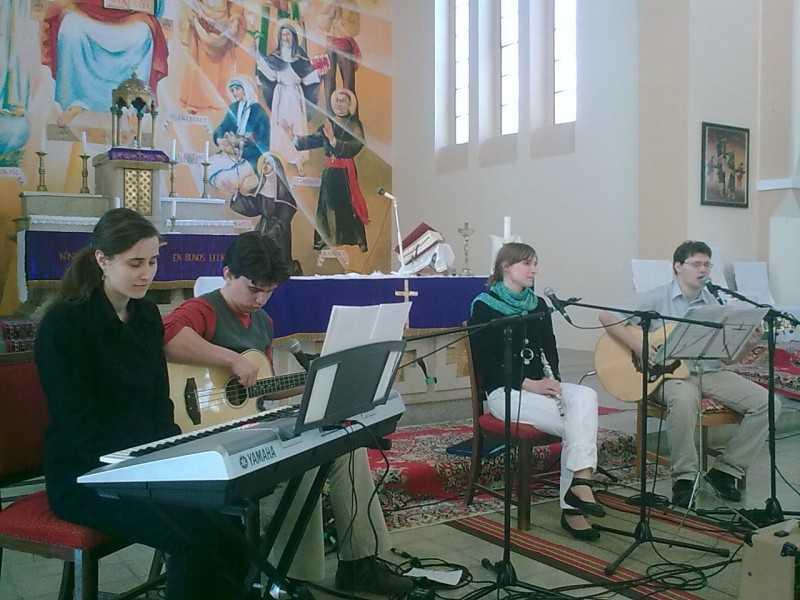 Imperfectum együttes nagyböjti áhítata templomunkban