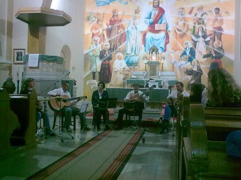 2012. 09. 15. Nyitott templomok éjszakája, Szekszárdi Gitárkvartett