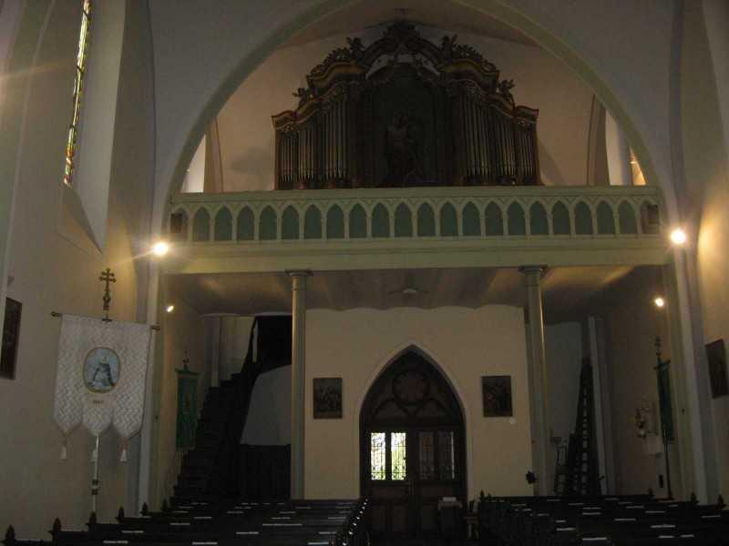 A templom karzata