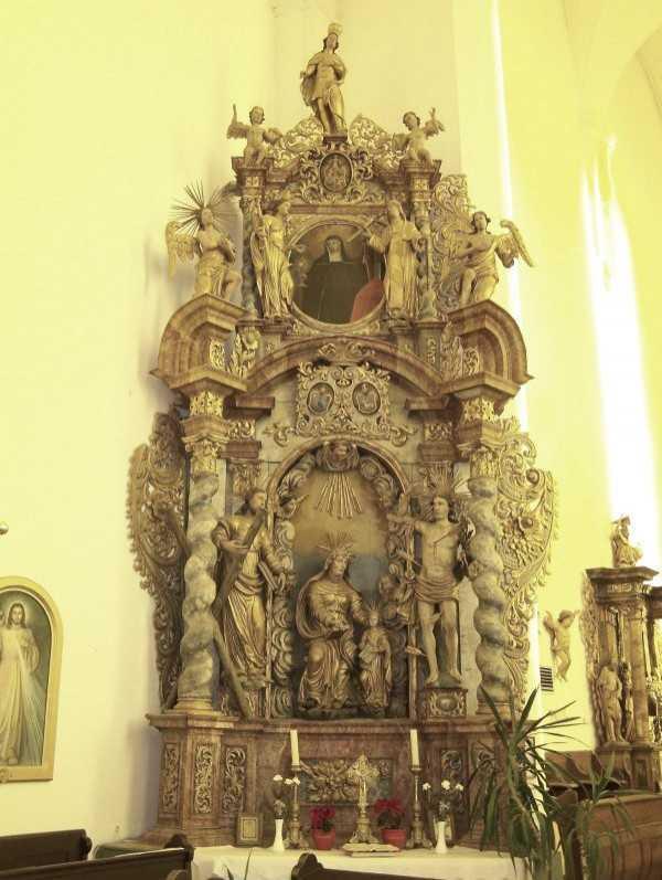 A Szent Anna oltár