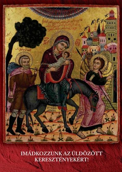Imalap az üldözött keresztényekért