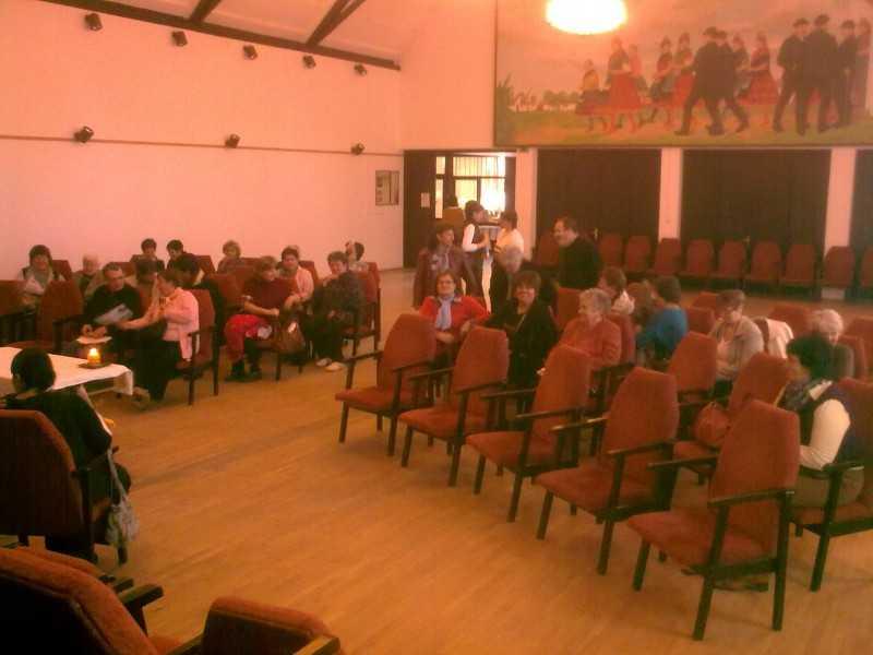 Szent Mónika közöségek találkozója, Decs 2013. október 19.