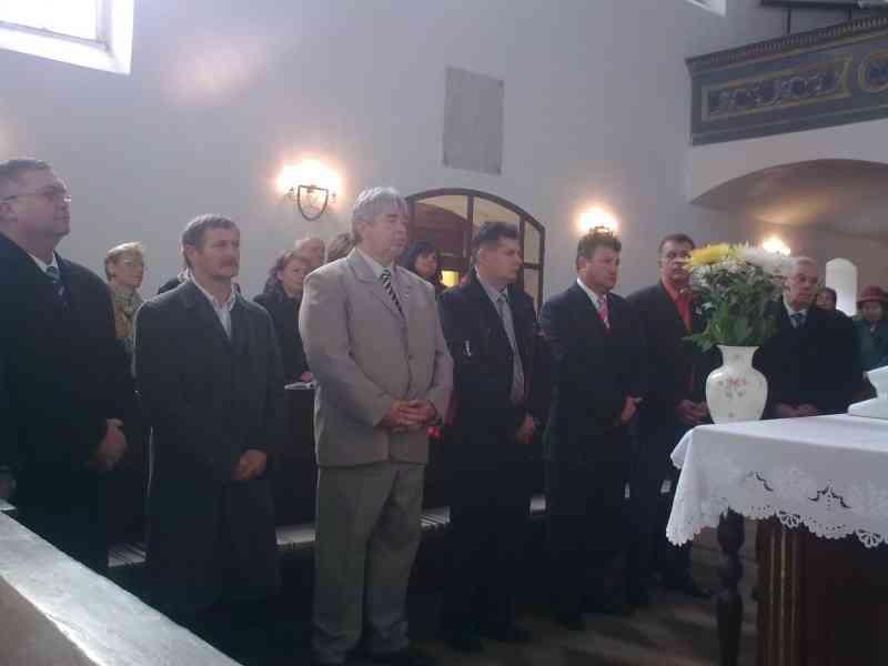 Az új önkormányzati képviselők ökumenikus megáldása a református templomban 2010. okt. 17.