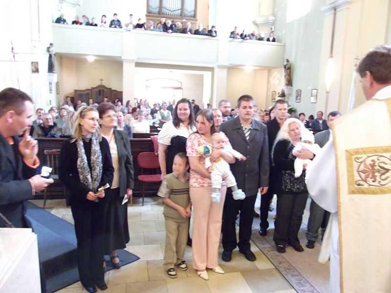 Keresztelendők 1