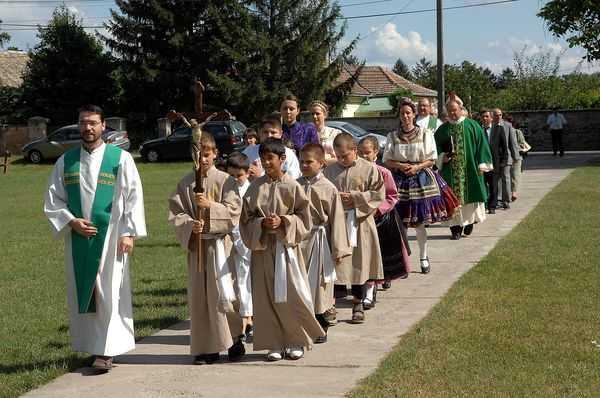 Templommegáldás 2010. augusztus 29.