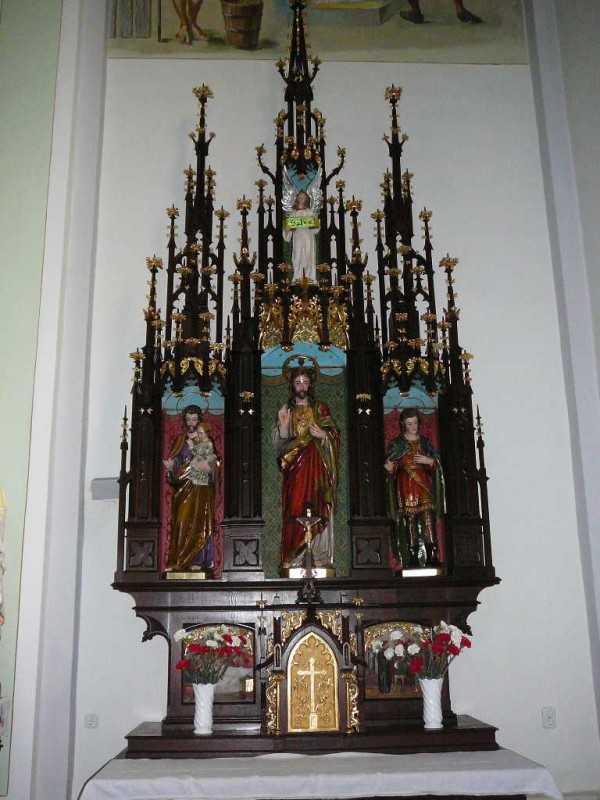 Jézus Szíve oltár