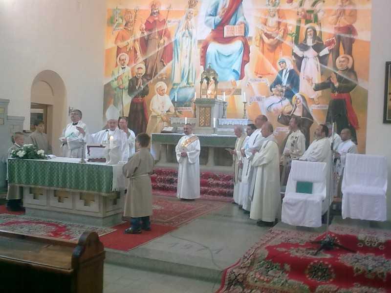 80 éves templomunk ünnepi szentmiséje