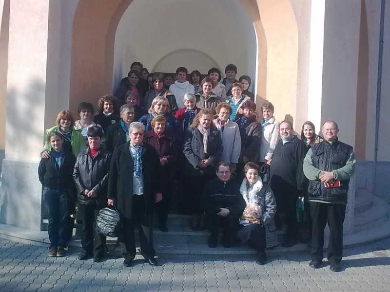 Decse, dinaföldvári és a dunakömlődi Szent Mónika közösségek 2011. október 29.