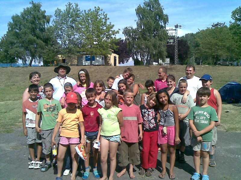 Nyári hittantábor Gemencben 2009.