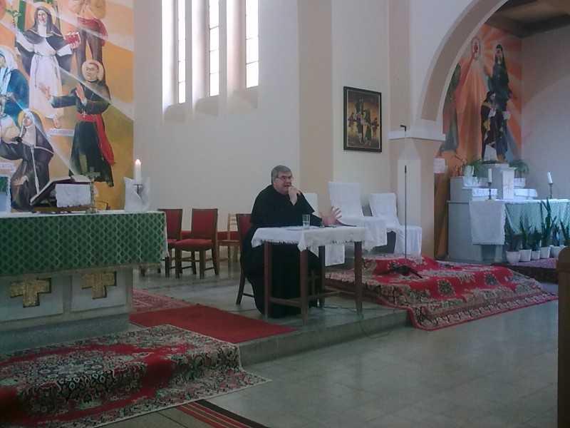 Garadnay Balázs püspöki helynök a lelkinapon