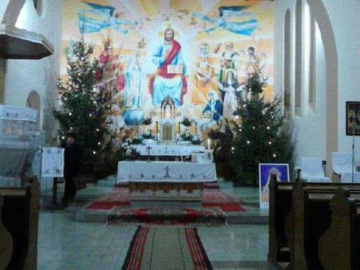 templomunk karácsonykor 2012.