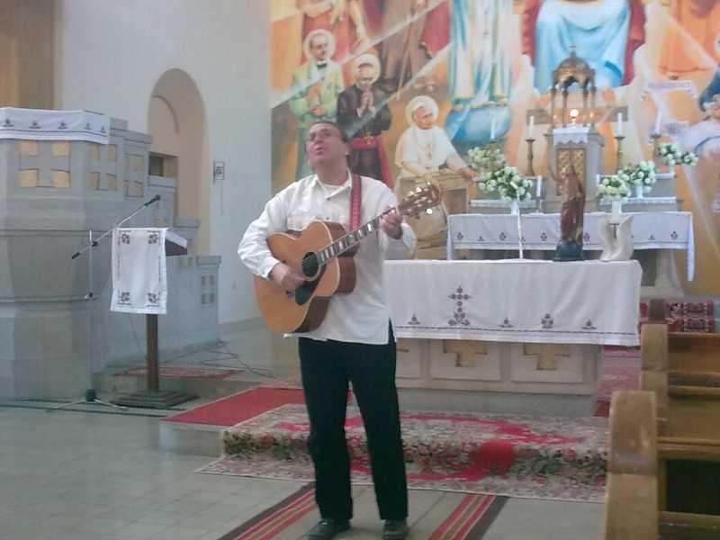 Sillye Jenő templomunkan 2011. 05. 07.
